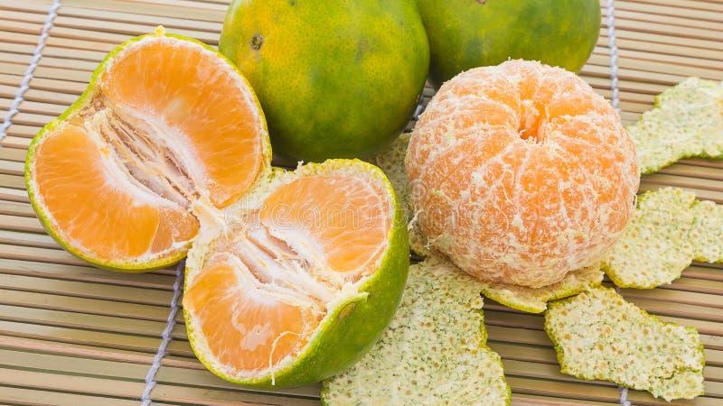 Apelsiner och tangerin royaltyfri bild