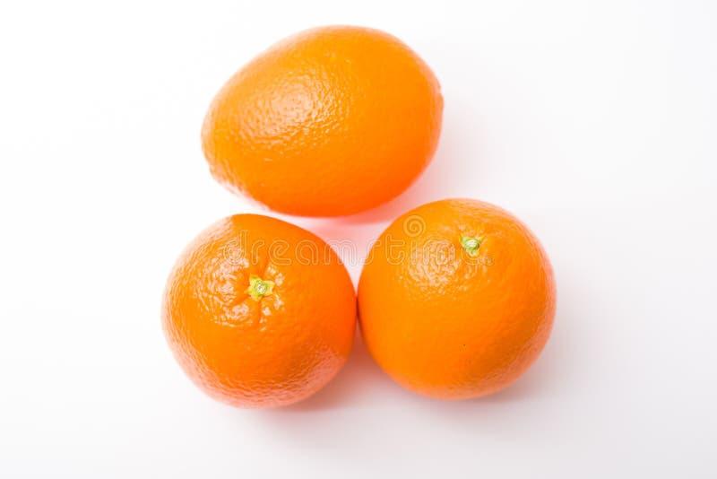 apelsiner tre arkivbild
