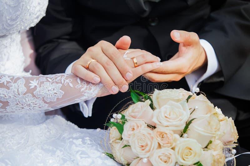 Apenas casado foto de stock