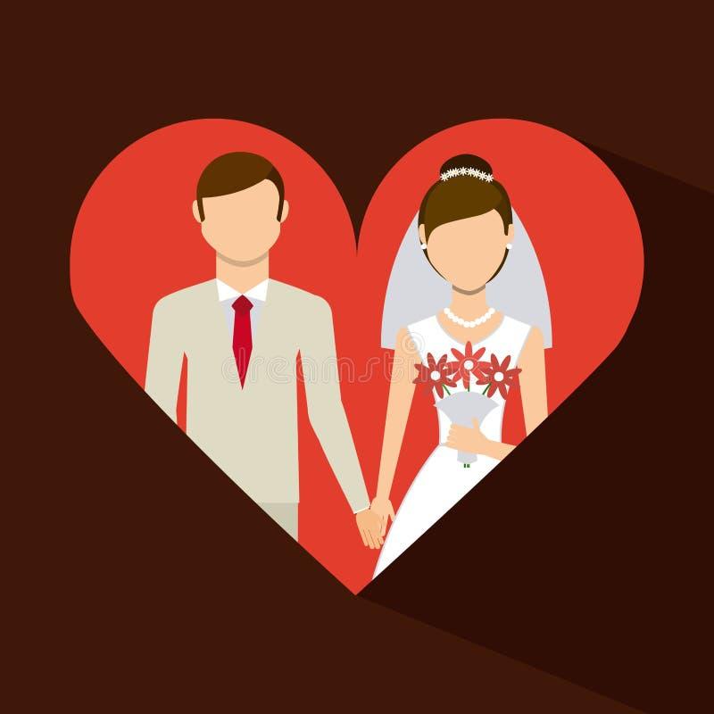 Apenas casado libre illustration