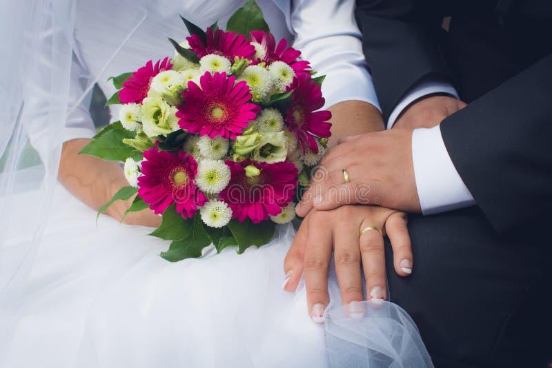 Apenas casado imagenes de archivo