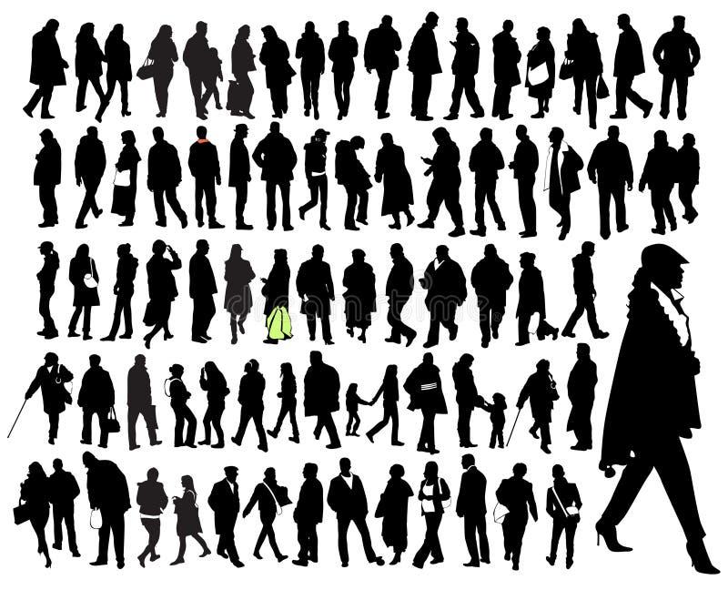 Apenas gente ilustración del vector
