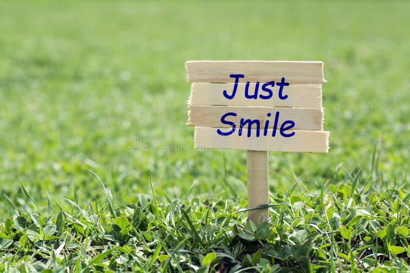 Apenas sonrisa imágenes de archivo libres de regalías