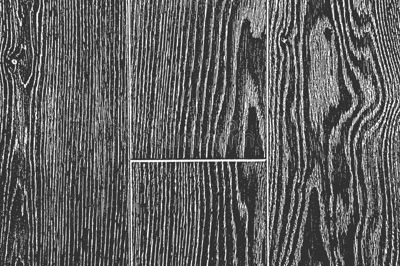 Apene la vieja textura de madera seca libre illustration