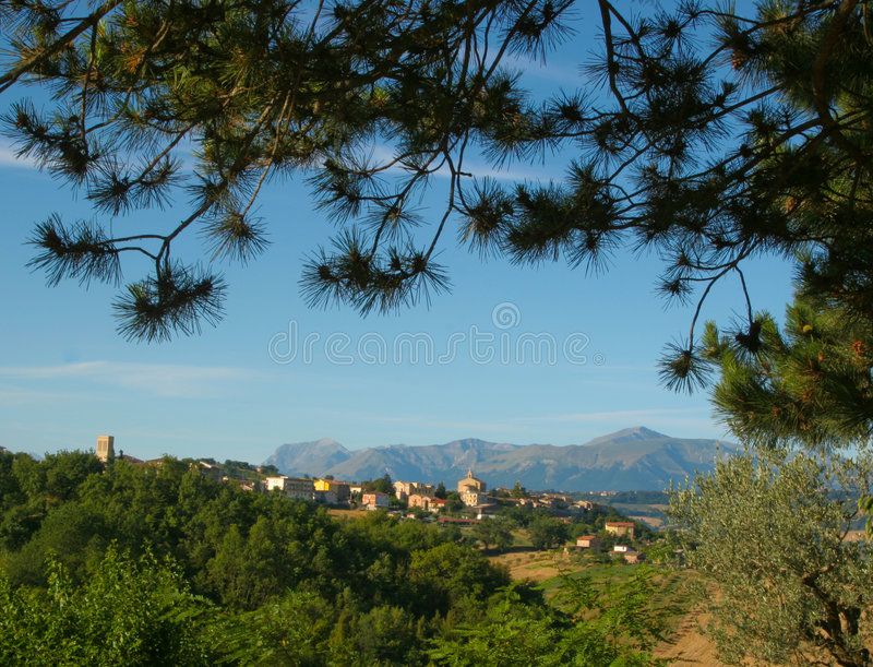 Apennine aspect royalty free stock images