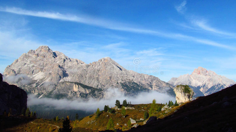 Apennine Mountain Range. Beautiful rocky peak of Apennine Mountain Range in summer. TheApenninesorApennine Mountains in Italy. Lots of stone and stock photography