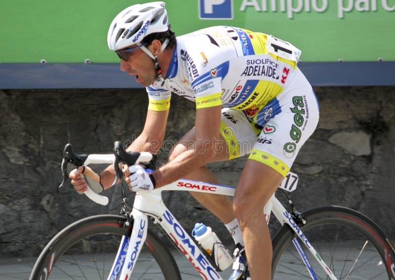 Apennines Cycling Race 2010. Davide Torosantucci during Apennines cycling race 2010. Date of the photo: April, 25 2010 stock photos