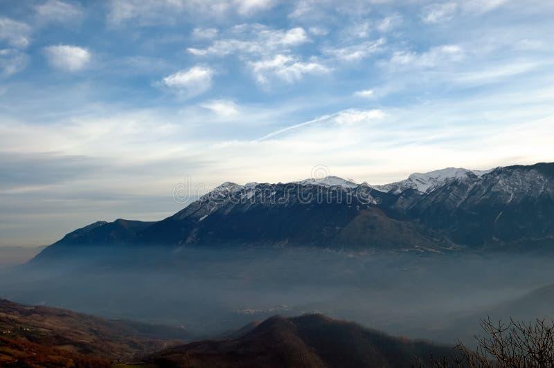 Apennines-Landschaft stockfoto