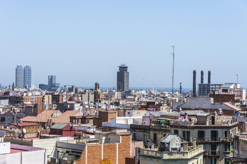 Aperçu de Barcelone photos stock