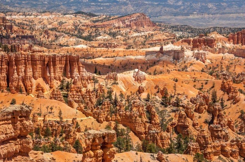 Aperçu de début de la matinée des porte-malheur colorés, Bryce Canyon Nation image libre de droits