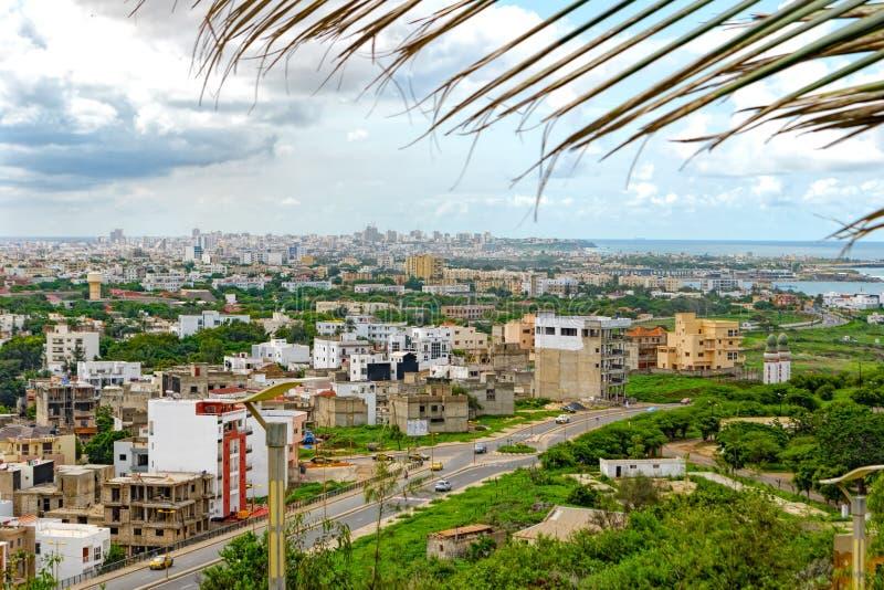 Aperçu de Dakar image libre de droits