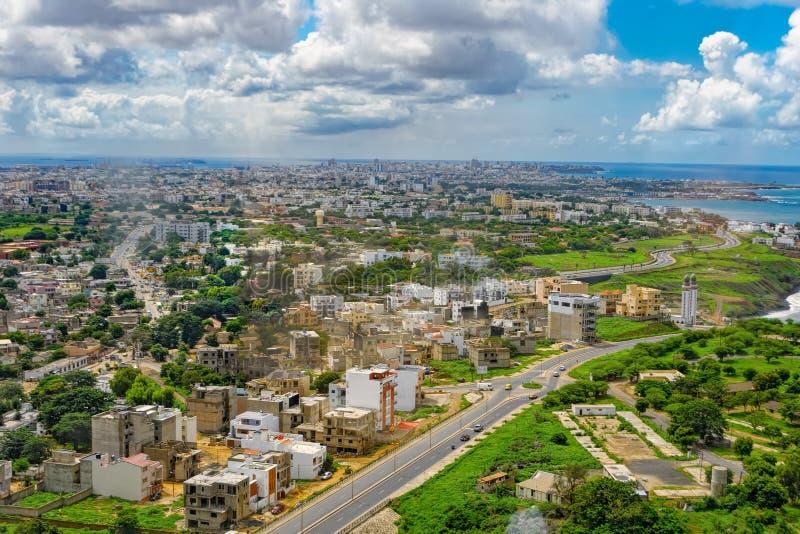 Aperçu de Dakar de la plate-forme d'observation photo libre de droits