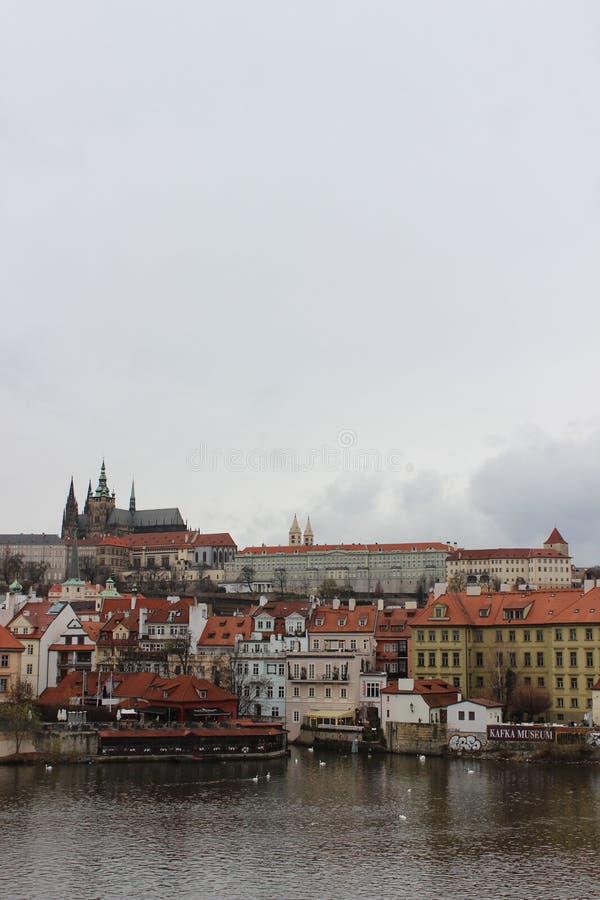 Aperçu de la ville de Prague photo stock