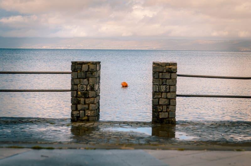 Aperçu de lac Bolsena images stock