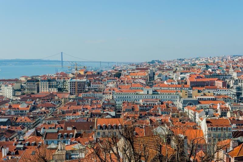 Aperçu de Lisbonne images libres de droits
