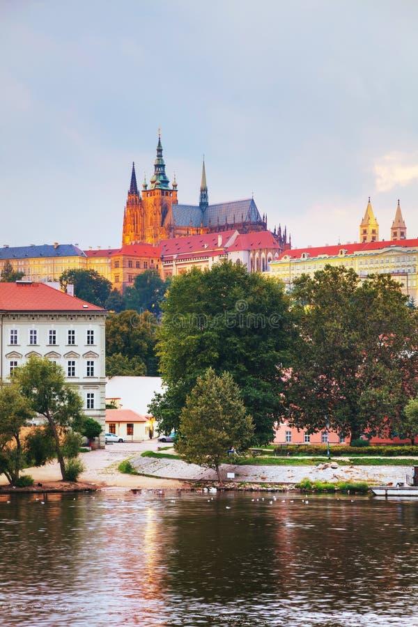 Aperçu de Prague, République Tchèque photo libre de droits