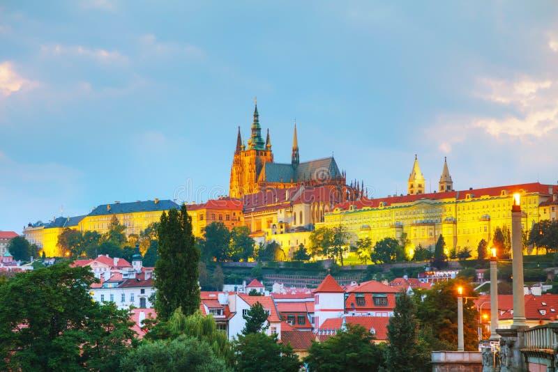 Aperçu de Prague, République Tchèque photos stock