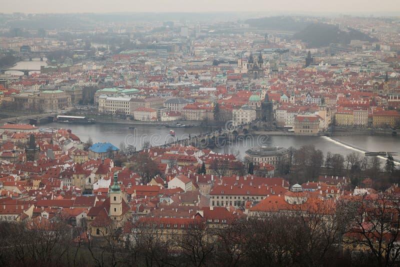 Aperçu de Prague photographie stock