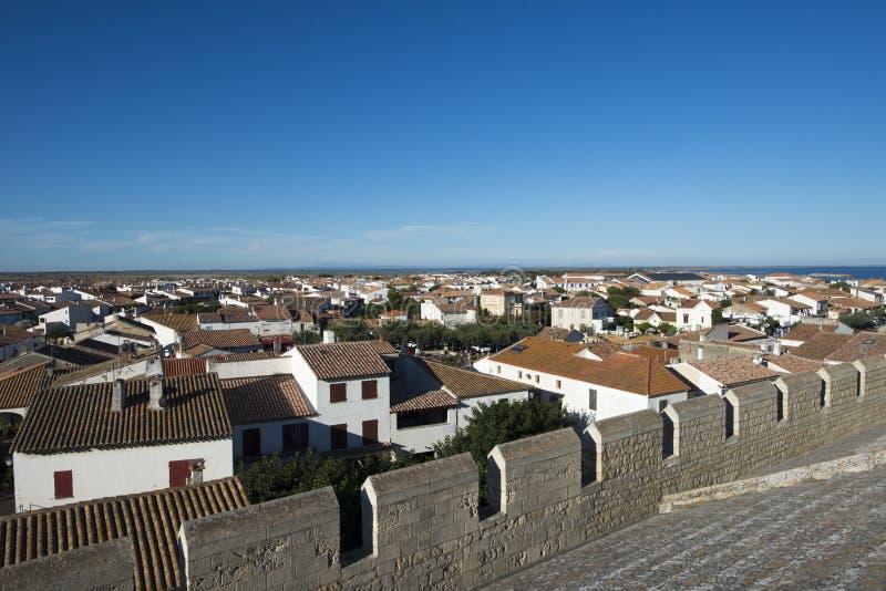 Download Aperçu De Saintes-Maries-de-la-Mer, France Image stock - Image du ouvert, commune: 77156929