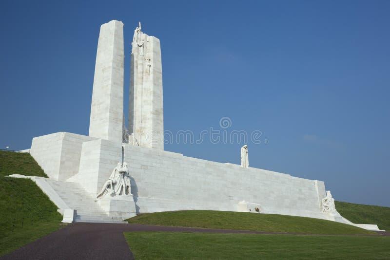 Aperçu du Vimy Ridge Memorial photos libres de droits
