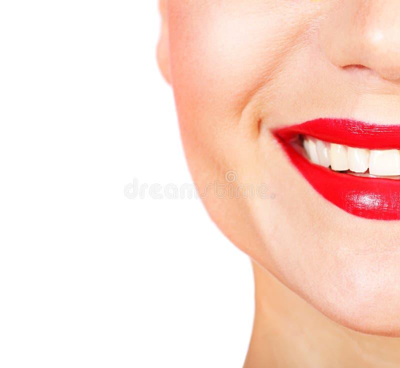 Aperfeiçoe o sorriso foto de stock