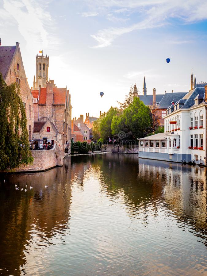 002-19 Aperitif in Bruges - vertical royalty free stock images