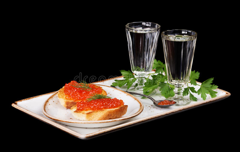 aperitif-sandwiches-red-caviar-two-glasses-vodka-porcelain-plate-isolated-black-61349143.jpg