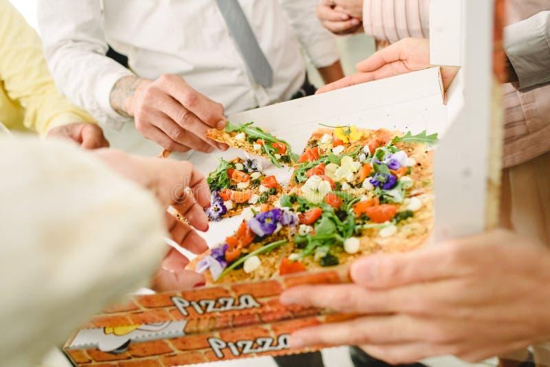 Aperitivi di idee dell'alimento di nozze immagini stock