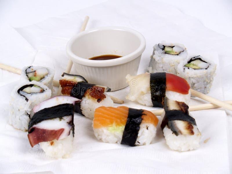 Aperitivo del sushi fotografía de archivo