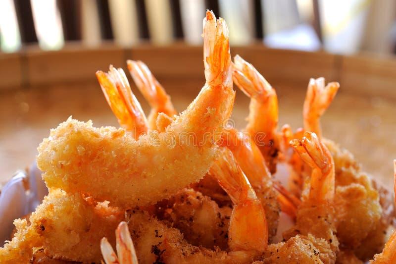Aperitivo delicioso de Fried Shrimp fotografia de stock royalty free