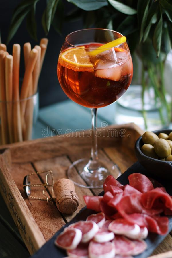 Aperitivo stock photos