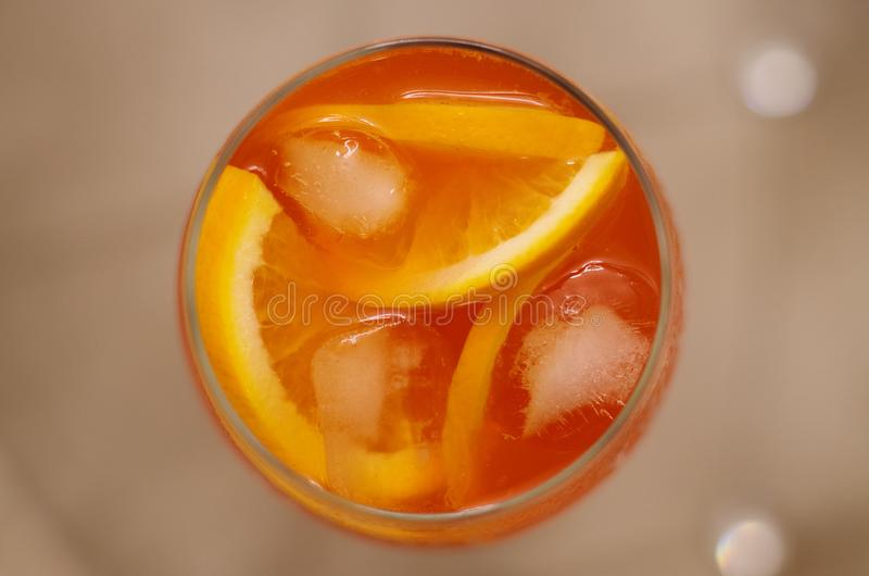 Aperol Spritz royalty free stock images