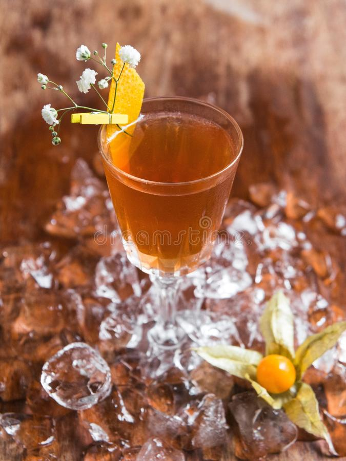 Aperol spritz cocktail royalty free stock images