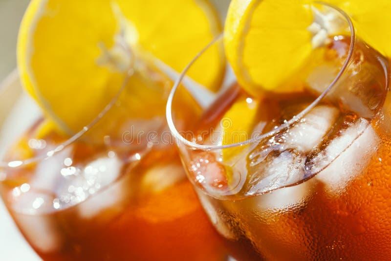 Aperol Spritz o cocktail imagem de stock royalty free