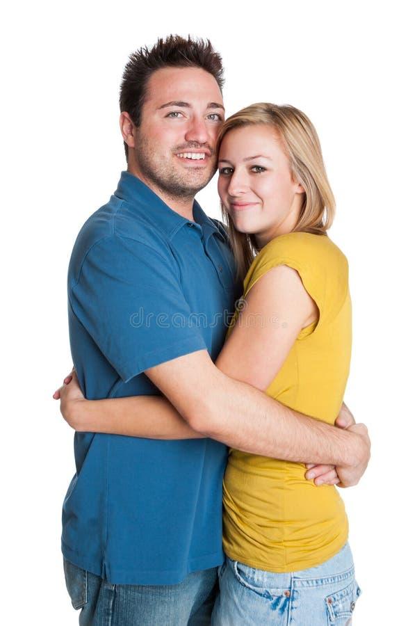 Aperto Loving dos pares imagem de stock