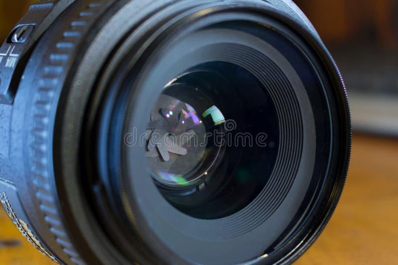 Apertur ostrza pierwszorzędny obiektyw zdjęcia royalty free