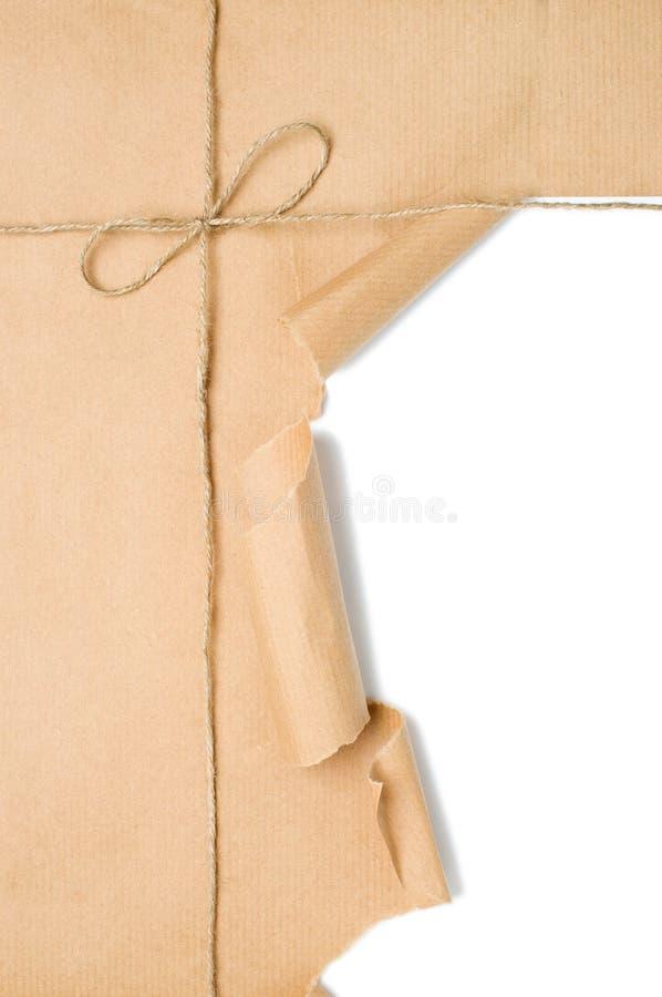 Apertura del pacchetto fotografie stock libere da diritti