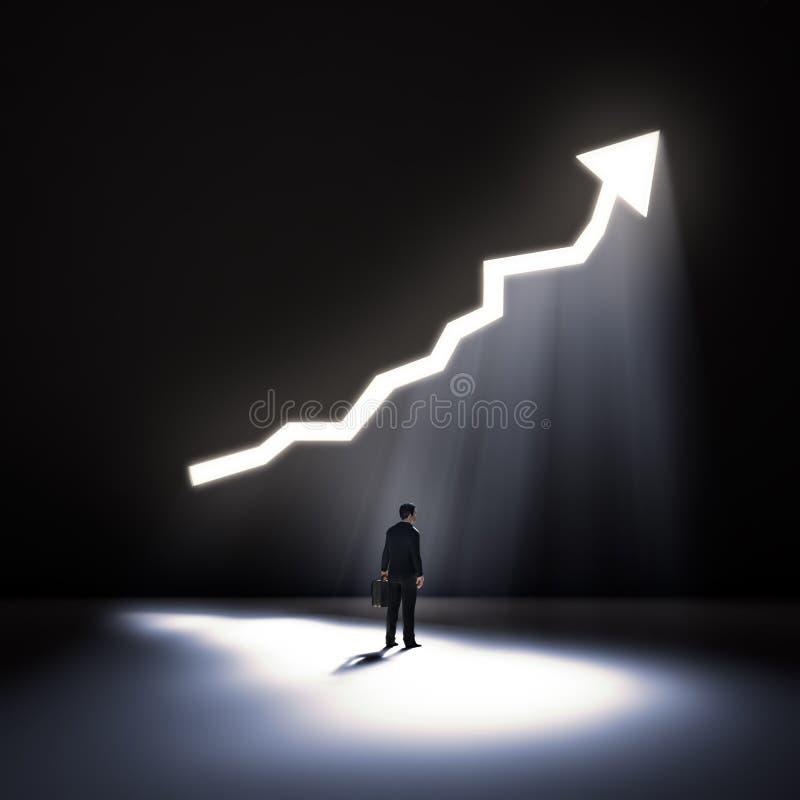 Download Apertura En Un Gráfico De La Pared Stock de ilustración - Ilustración de flecha, financiero: 42432649