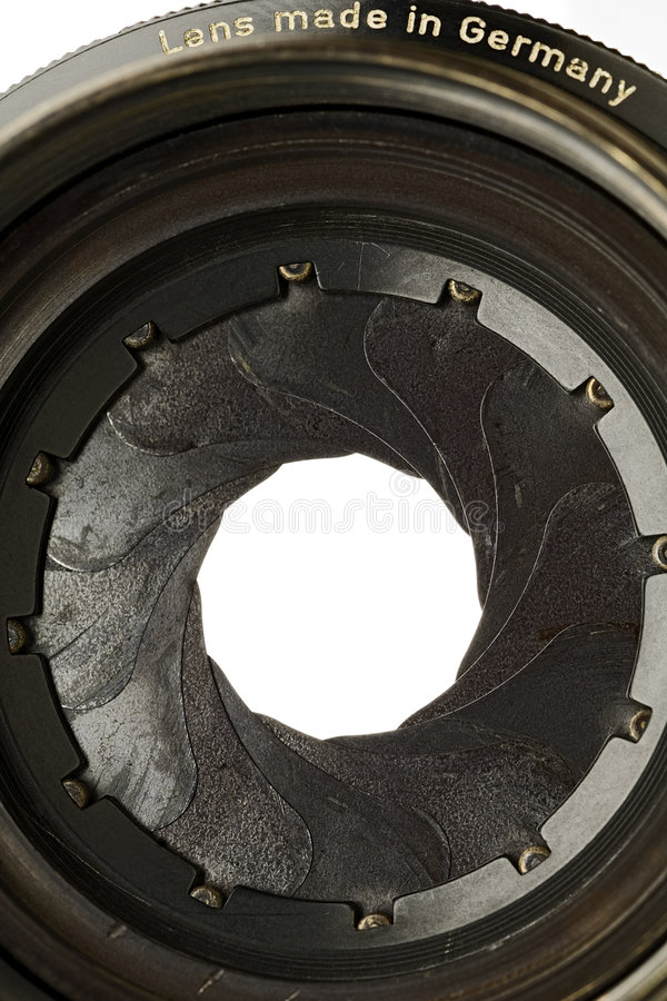 Aperture stock photography