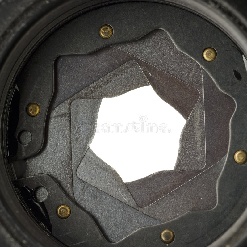 Aperture royalty free stock images