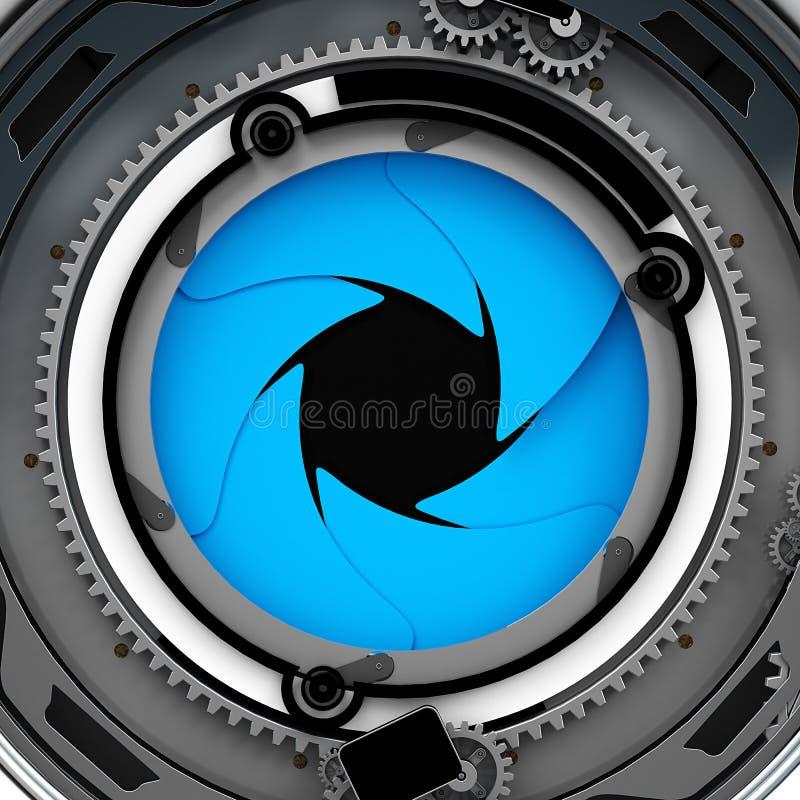 Aperture stock illustration