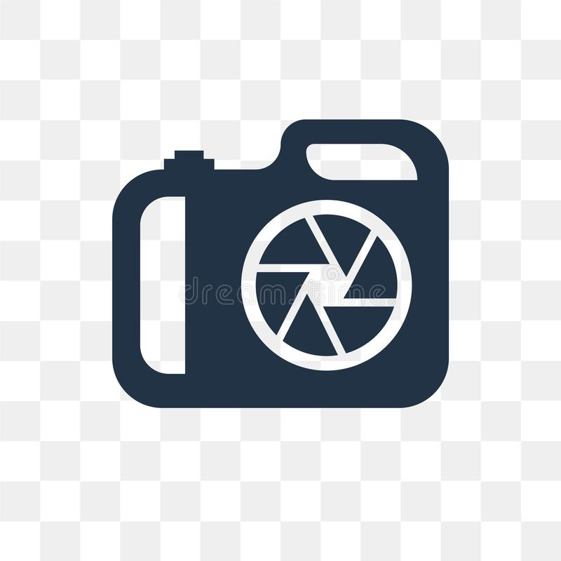 Aperture vector icon isolated on transparent background, Aperture transparency concept can be used web and mobile vector illustration