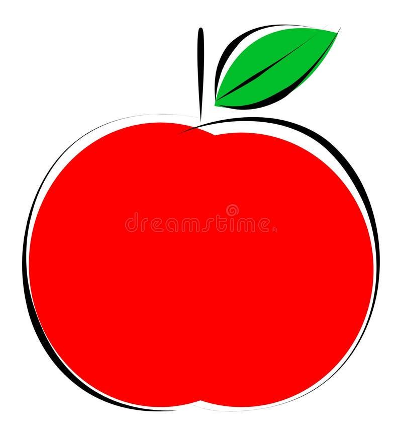 Apfel lizenzfreie abbildung