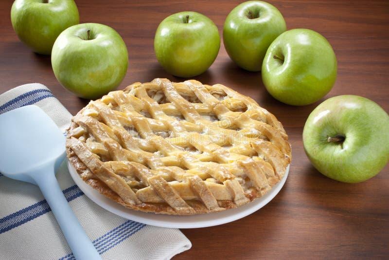 Apfelkuchen lizenzfreie stockbilder