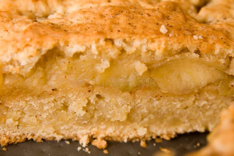 Apfelkuchenschichten stockfoto