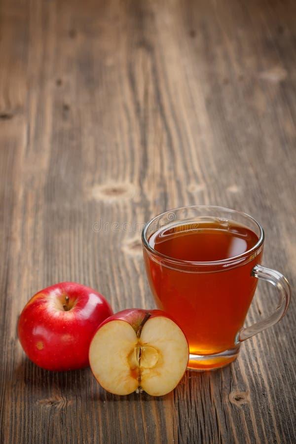 Apfelsaft stockbilder