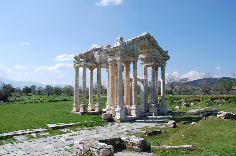 Download Aphrodisias stock image. Image of temple, monument, historical - 13874567