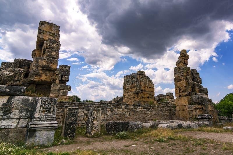 Aphrodisias ruiny zdjęcie stock