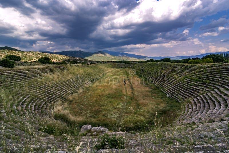 Aphrodisias-Stadion stockfoto