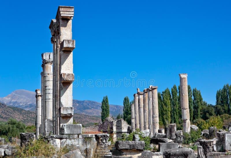 aphrodite świątynia obrazy royalty free